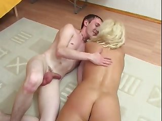 Russian MILF and guy - 21
