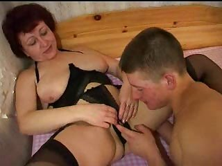 Russian Mature And Boy 055
