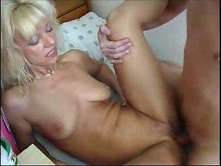 blonde russian mom