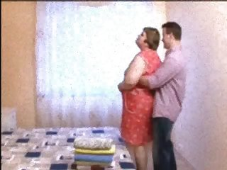 Russian sexy Mature Mom and her boy!..