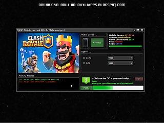 Clash Royale Hack Unlimited Gems,Gold (..
