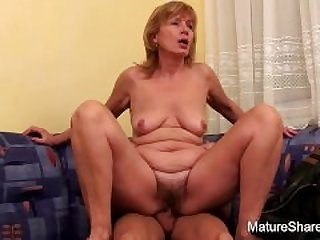50+ years old sucking cock