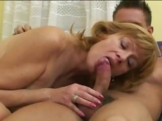 Hairy Russian Mom Does It All