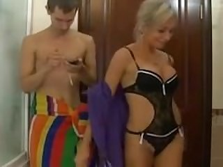 Russian mom love anal fucked