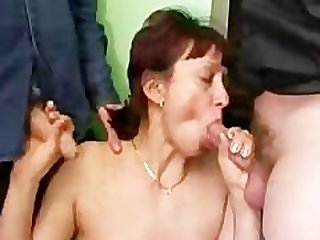 Russian Filth Mature And Many Dicks